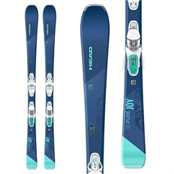 Head Pure Joy Skis ​+ Joy 9 GW SLR Bindings - Women's 2021