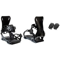 Karakoram PRIME Connect Free Ranger ​+ Quiver Connectors Snowboard Bindings 2021