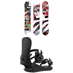 CAPiTA Ultrafear Snowboard + Union Strata Snowboard Bindings 2021