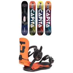 CAPiTA Defenders of Awesome Snowboard ​+ Union Strata Snowboard Bindings 2021