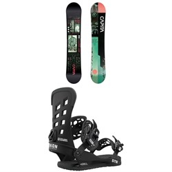CAPiTA Outerspace Living Snowboard ​+ Union STR Snowboard Bindings 2021