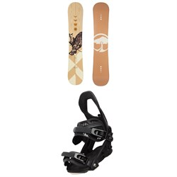 Arbor Cadence Camber Snowboard + Sequoia Snowboard Bindings - Women's 2021