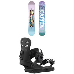 CAPiTA Paradise Snowboard + Union Rosa Snowboard Bindings - Women's 2021