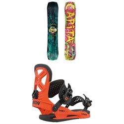 CAPiTA Children Of The Gnar Snowboard + Union Cadet Pro Snowboard Bindings - Kids' 2021
