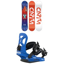 CAPiTA Micro Mini Snowboard ​+ Union Cadet XS Snowboard Bindings - Little Kids' 2021