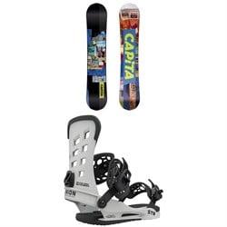 CAPiTA The Outsiders Snowboard + Union STR Snowboard Bindings 2021