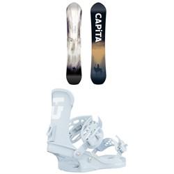 CAPiTA The Equalizer Snowboard + Union Trilogy Snowboard Bindings - Women's 2021