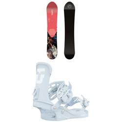 CAPiTA Navigator Snowboard + Union Trilogy Snowboard Bindings - Women's 2021
