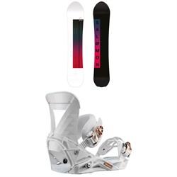 Salomon Pillow Talk Snowboard + Salomon Mirage Snowboard Bindings - Women's