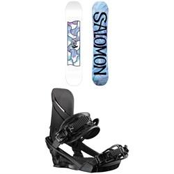 Salomon Gypsy Snowboard + Salomon Nova Snowboard Bindings - Women's