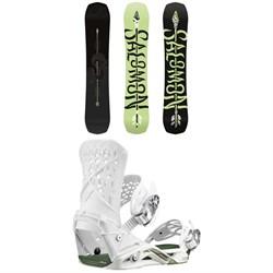 Salomon Assassin Pro Snowboard + Salomon Highlander Snowboard Bindings 2020