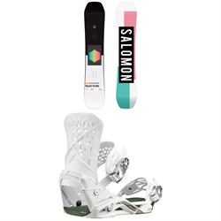 Salomon Huck Knife Snowboard ​+ Salomon Highlander Snowboard Bindings
