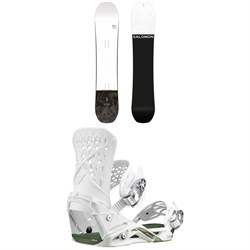 Salomon Super 8 Snowboard ​+ Salomon Highlander Snowboard Bindings