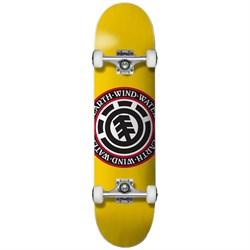 Element Seal Yellow 7.25 Skateboard Complete - Big Kids'