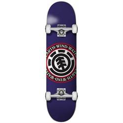 Element Seal Purple 7.125 Skateboard Complete - Big Kids'