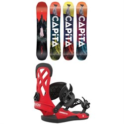 CAPiTA Defenders of Awesome Snowboard ​+ Union Contact Pro Snowboard Bindings 2021