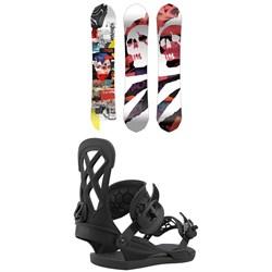 CAPiTA Ultrafear Snowboard + Union Contact Pro Snowboard Bindings 2021