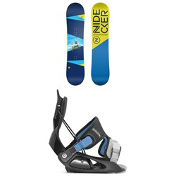 Nidecker Micron Magic Snowboard ​+ Flow Micron Snowboard Bindings - Little Kids'