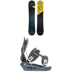Nidecker Prosper Snowboard ​+ Flow Micron Youth Snowboard Bindings - Kids' 2020