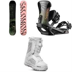 Salomon Oh Yeah Snowboard + Salomon Vendetta Snowboard Bindings + thirtytwo STW Boa Snowboard Boots - Women's