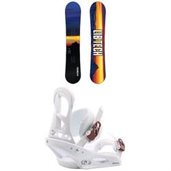 Lib Tech Cortado C2 Snowboard + Burton Stiletto Snowboard Bindings - Women's