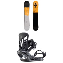 K2 Raygun Pop Snowboard ​+ Indy Snowboard Bindings