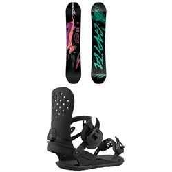CAPiTA Indoor Survival Snowboard ​+ Union Strata Snowboard Bindings 2021