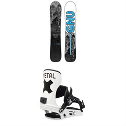 GNU Antigravity C3 Snowboard ​+ Bent Metal Axtion Snowboard Bindings 2021