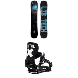 Lib Tech Box Knife C3 Snowboard ​+ Bent Metal Axtion Snowboard Bindings 2021