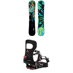 Lib Tech Box Scratcher BTX Snowboard ​+ Bent Metal Joint Snowboard Bindings 2021