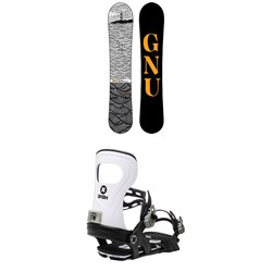 GNU T2B Snowboard ​+ Bent Metal Joint Snowboard Bindings 2021