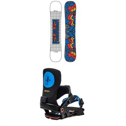 GNU FB Head Space Asym C3 Snowboard ​+ Bent Metal Axtion Snowboard Bindings 2021