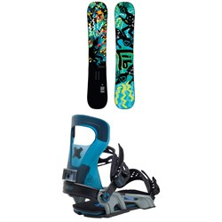 Lib Tech Box Scratcher BTX Snowboard ​+ Bent Metal Logic Snowboard Bindings 2021