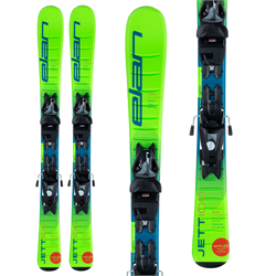 Elan Jett QS Skis ​+ EL 4.5 Bindings - Little Boys' 2021
