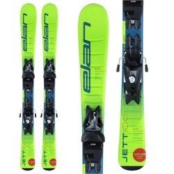 Elan Jett QS Skis + EL 7.5 Bindings - Boys' 2021