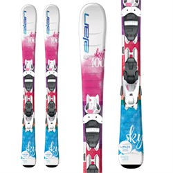 Elan Sky QS Skis + EL 7.5 GW Shift Bindings - Little Girls' 2022
