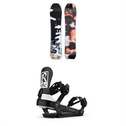 Ride Psychocandy Snowboard + Ride AL-6 Snowboard Bindings - Women's 2021