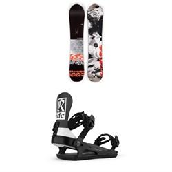 Ride Magic Stick Snowboard + Ride CL-6 Snowboard Bindings - Women's 2021
