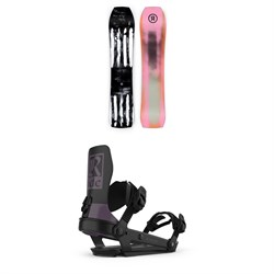 Ride Warpig Snowboard ​+ Ride A-6 Snowboard Bindings 2021