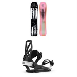 Ride Warpig Snowboard + Ride A-4 Snowboard Bindings 2021