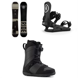 Ride Manic Snowboard ​+ C-2 Snowboard Bindings ​+ Anthem Snowboard Boots 2021