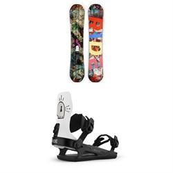 Ride Machete Snowboard + Ride C-6 Snowboard Bindings 2021