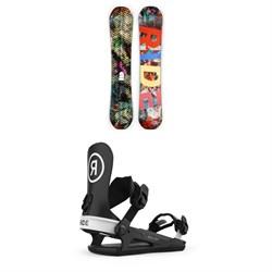 Ride Machete Snowboard + Ride C-4 Snowboard Bindings 2021