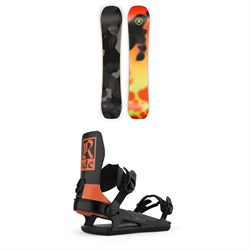 Ride Berzerker Snowboard + Ride C-6 Snowboard Bindings 2021