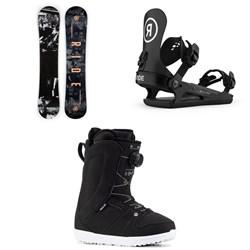 Ride Heartbreaker Snowboard + CL-2 Snowboard Bindings + Sage Snowboard Boots - Women's 2021