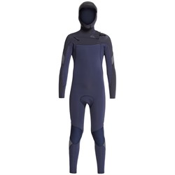 Quiksilver 5​/4​/3 Syncro Chest Zip GBS Hooded Wetsuit - Boys'