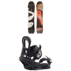 Ride Psychocandy Snowboard - Women's + Burton Stiletto Snowboard Bindings - Women's