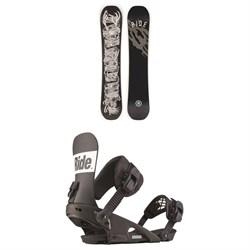 Ride Wildlife Snowboard + Ride Rodeo Snowboard Bindings 2020