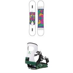 GNU Asym B-Nice BTX Snowboard + Bent Metal Metta Snowboard Bindings - Women's 2021