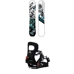 Lib Tech Ryme C3 Snowboard ​+ Bent Metal Metta Snowboard Bindings - Women's 2021